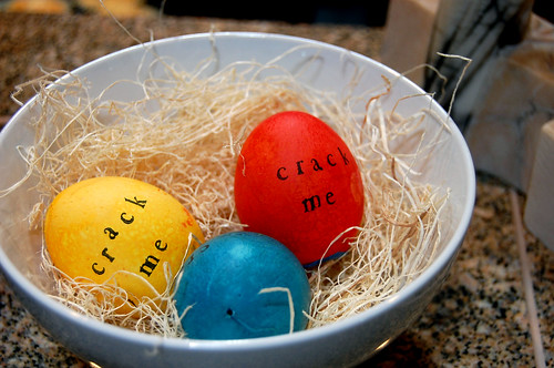 eggs to crack