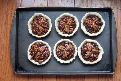 Chocolate Pecan Tarts