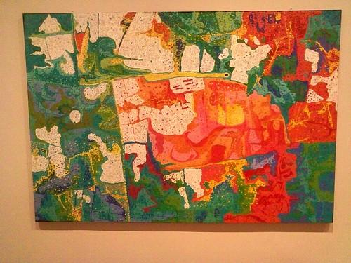 """Winpa"" by Daniel Walbidi (Australian, Mangala people)"
