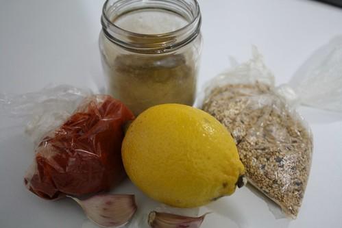 ingerdientes humus