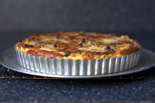 cauliflower and caramelized onion tart smitten kitchen