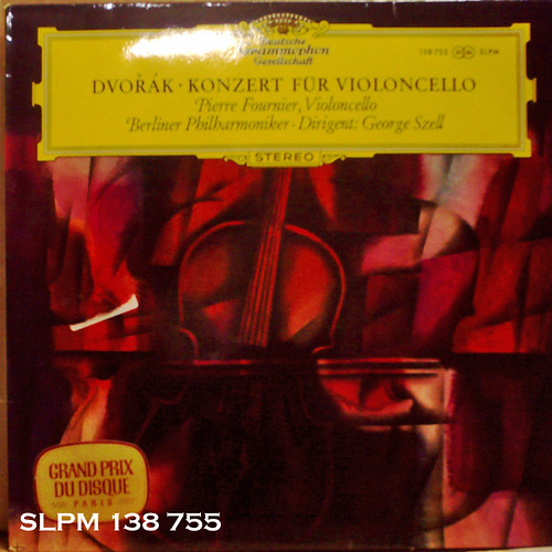 チューリップラベル美盤!! 名曲名盤300の第1位に上げられているフルニエのドヴォコン