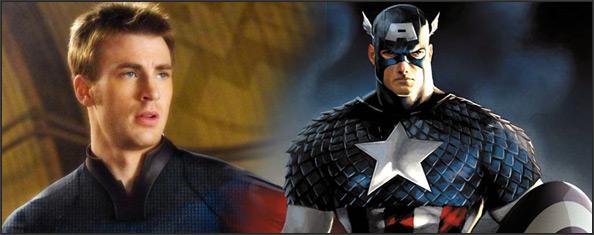 Chris Evans y el Capitan America