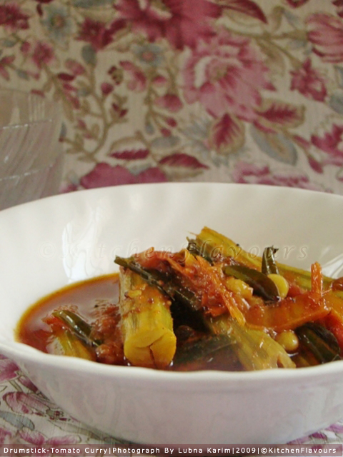 Drumstick-Tomato Curry