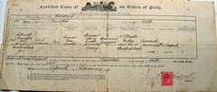 Old Birth Certificate