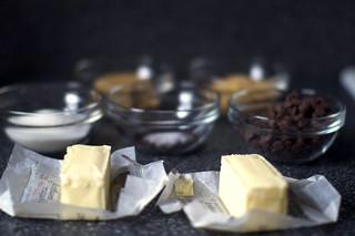 butter, sugars, salt, espresso, chocolate