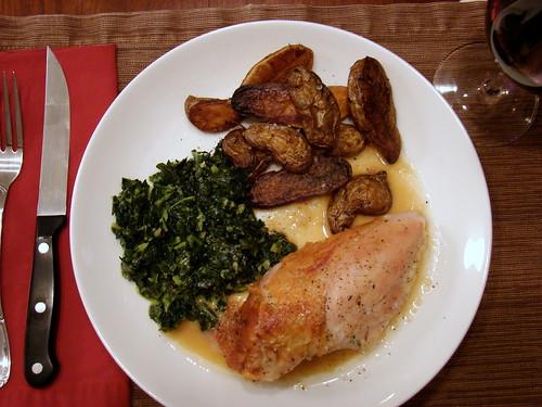 Dinner:  December 9, 2009