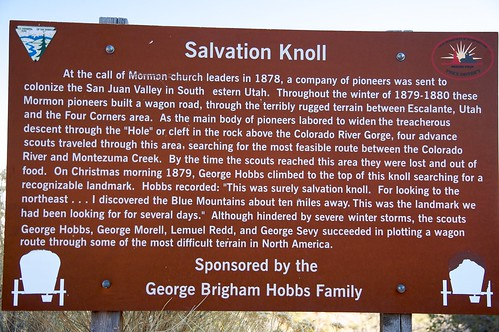 Salvation Knoll Sign