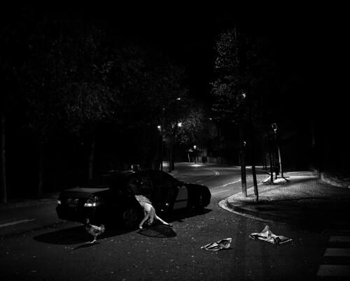 Escena del primer asesinato