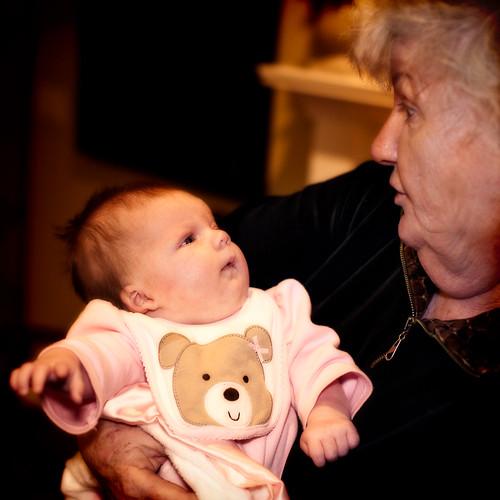 Carolyn and grandmom