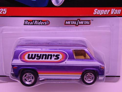 hws delivery super van