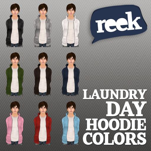 Reek - Laundry Day Hoodie - Colors
