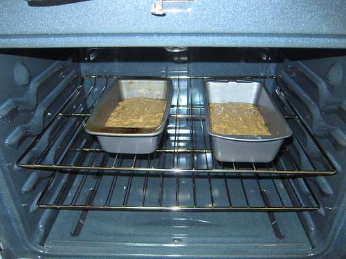 Baking Zucchini Bread