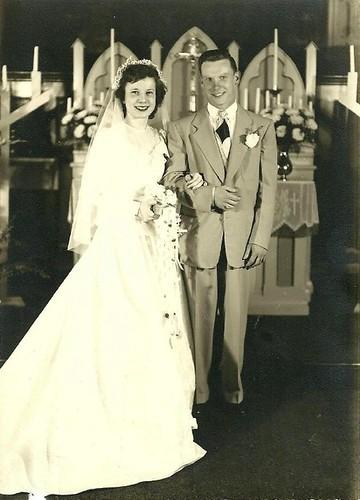 grandma and grandpa 1951