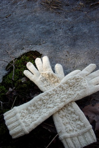 Winterberry Gloves & Beret Set