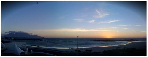 Cape Town sunset pano