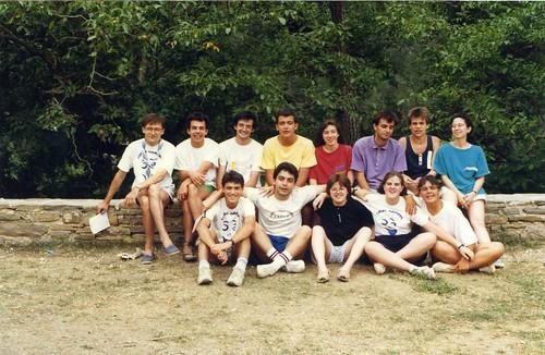 Curs 1988-89, colònies a Campalans'88 i campaments a Cabdella'88