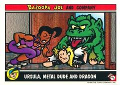 Bazooka Joe 1995 Topps Sticker Cards