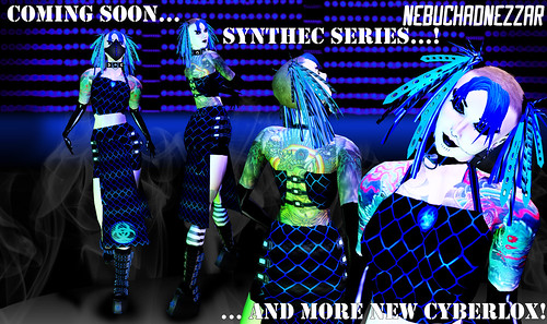 Synthec Series Plus New Cyberlox coming soon!