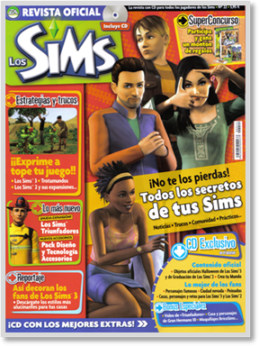 The Sims Official Spanish Magazine April/May 2010 issue
