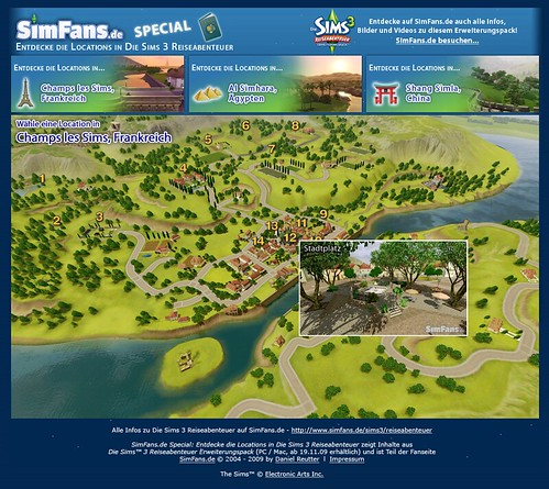 how to travel in sims 3 world adventures
