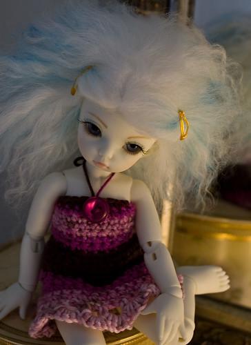 běla's crochet dress