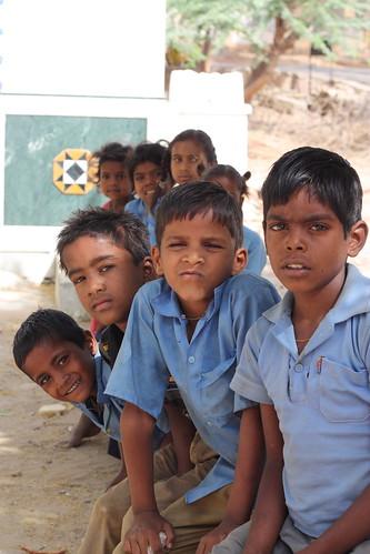Lunch Break, Udaipur School Children