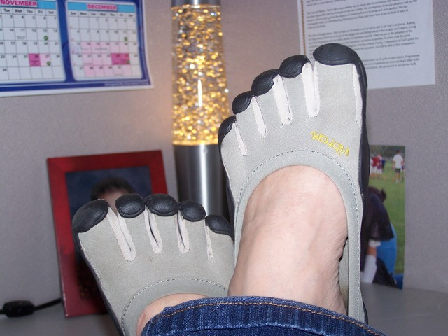 Vibrams in the Office