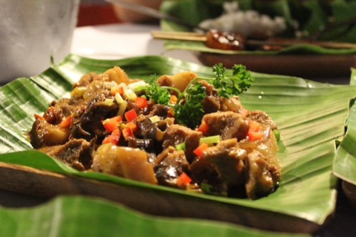 Bicol Express at Obsidian Bar and Grill