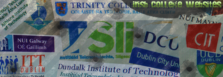 irish college websites