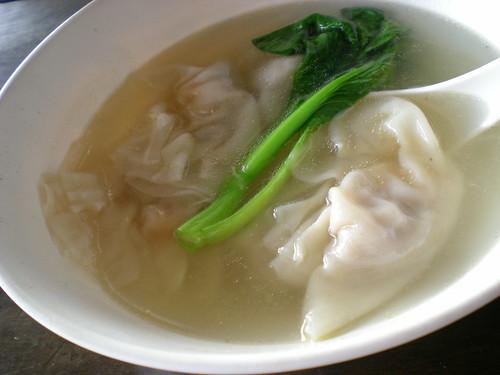 KongMaMa prawn dumpling soup