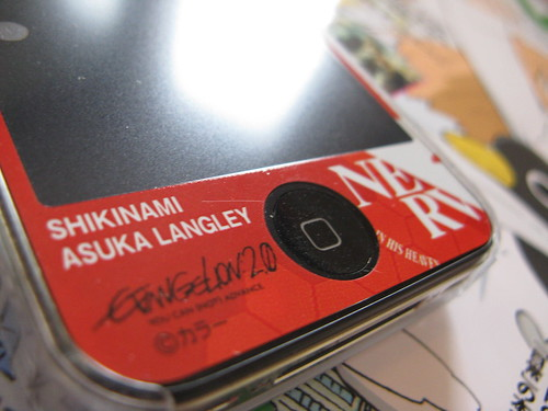 Asuka Evangelion iPhone4 cover