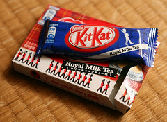 KitKat Royal Milk Tea