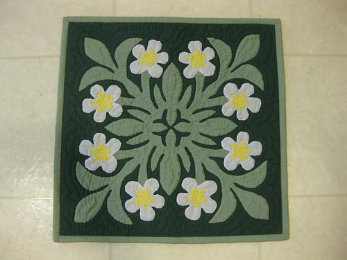 Hawaiian Quilted Pillow Slip