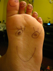 funny foot