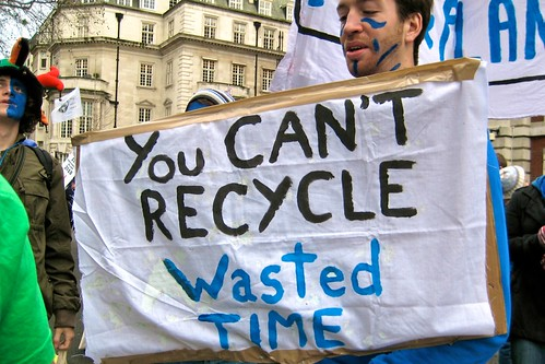 You can't recycle wasted time - The Wave clima...