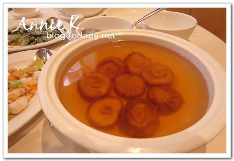 香港鏞記清燉的香菇湯
