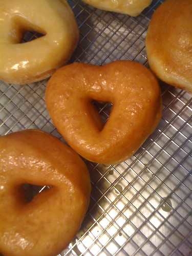 Glazed, Yeast-Raised, Vegan Doughnuts