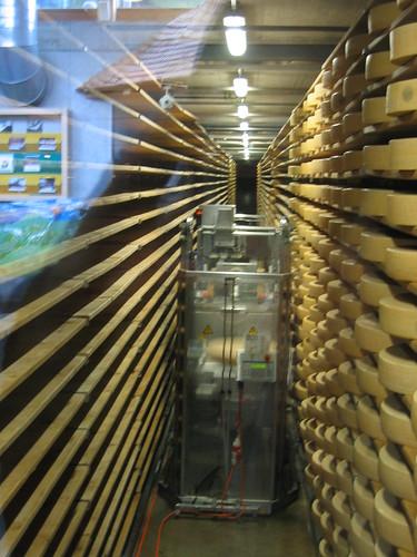 Gruyere cheese in Gruyere
