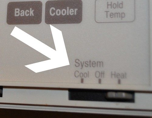 turn on heat