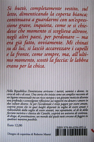 Jean-Nöel Pancrazi, Dollari delle sabbie, Barbès 2009; q. di cop. (part.)
