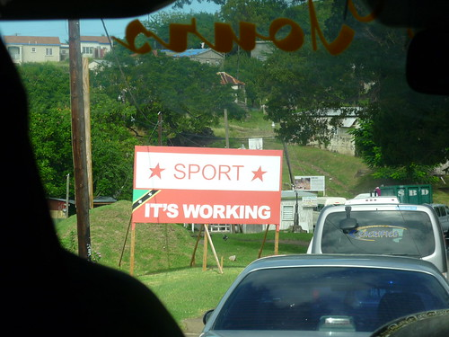 Political slogan, St Kitts