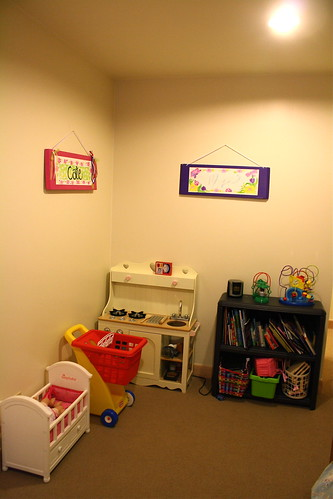Cate & Meg Room Toy Corner