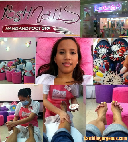 Posh Nails Footspa