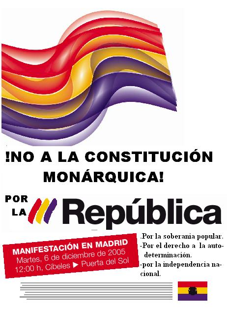 Manifestación Unitaria 6 de Diciembre 2005