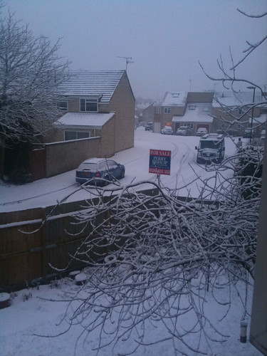 Cirencester Cupcakes in the Snow!