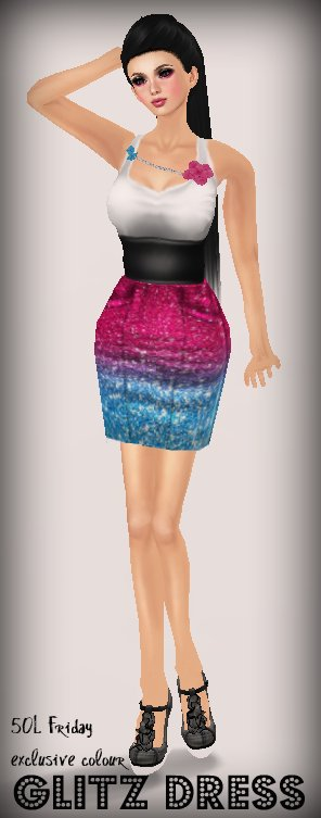 Adore&Abhor - 50L Friday Exclusive Color Glitz Dress