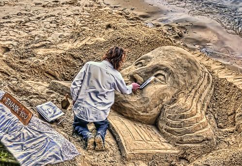 Thames Sand Sculptor