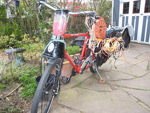 Diy bike blender