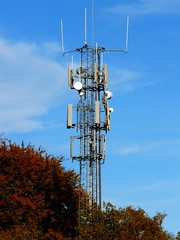 Mobile Telecomunications Tower,A303, Hampshire